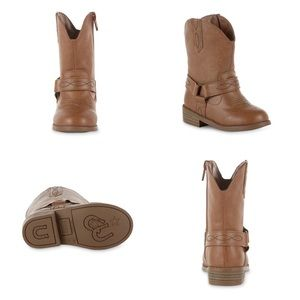 PIPER  Toddler Girls' Ginny Brown Western Boot